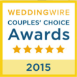 2015 Weddingwire Couples Choice Award
